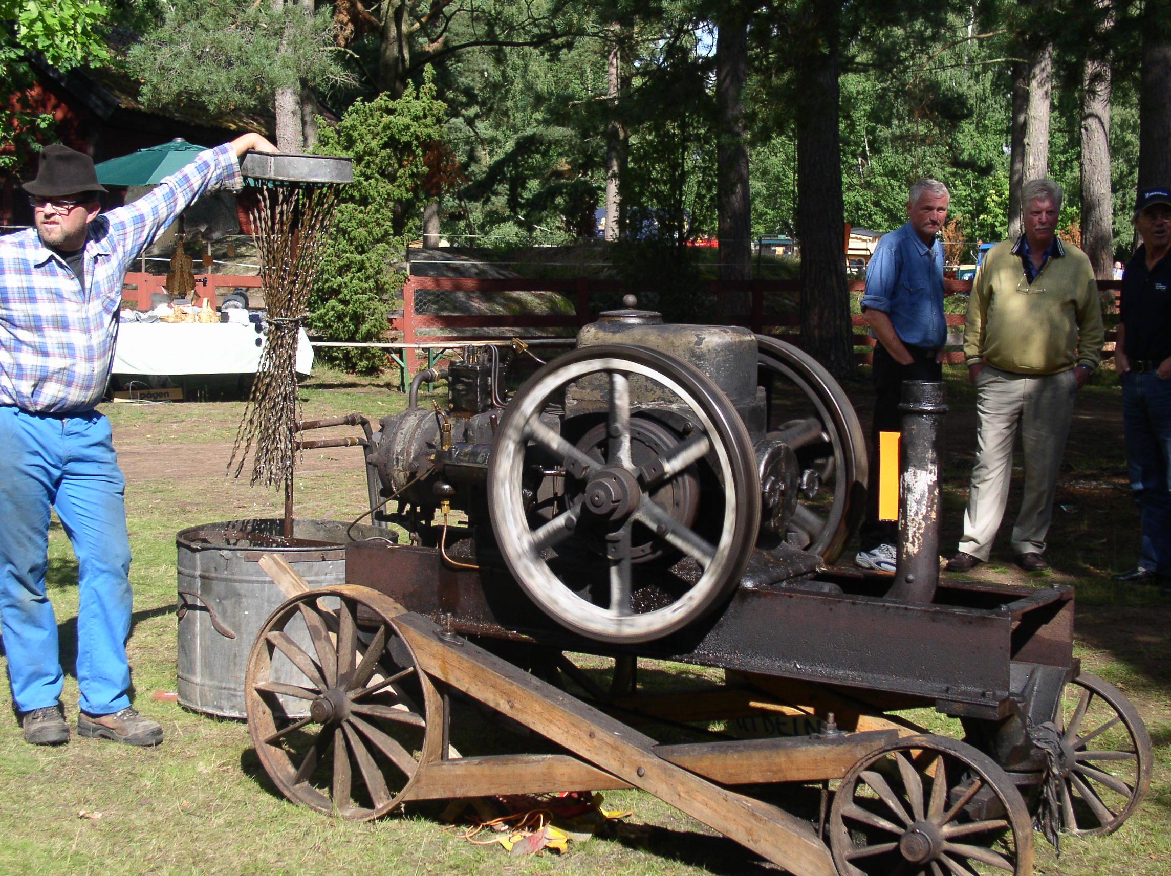 Motorns Dag i Målilla hembygdspark