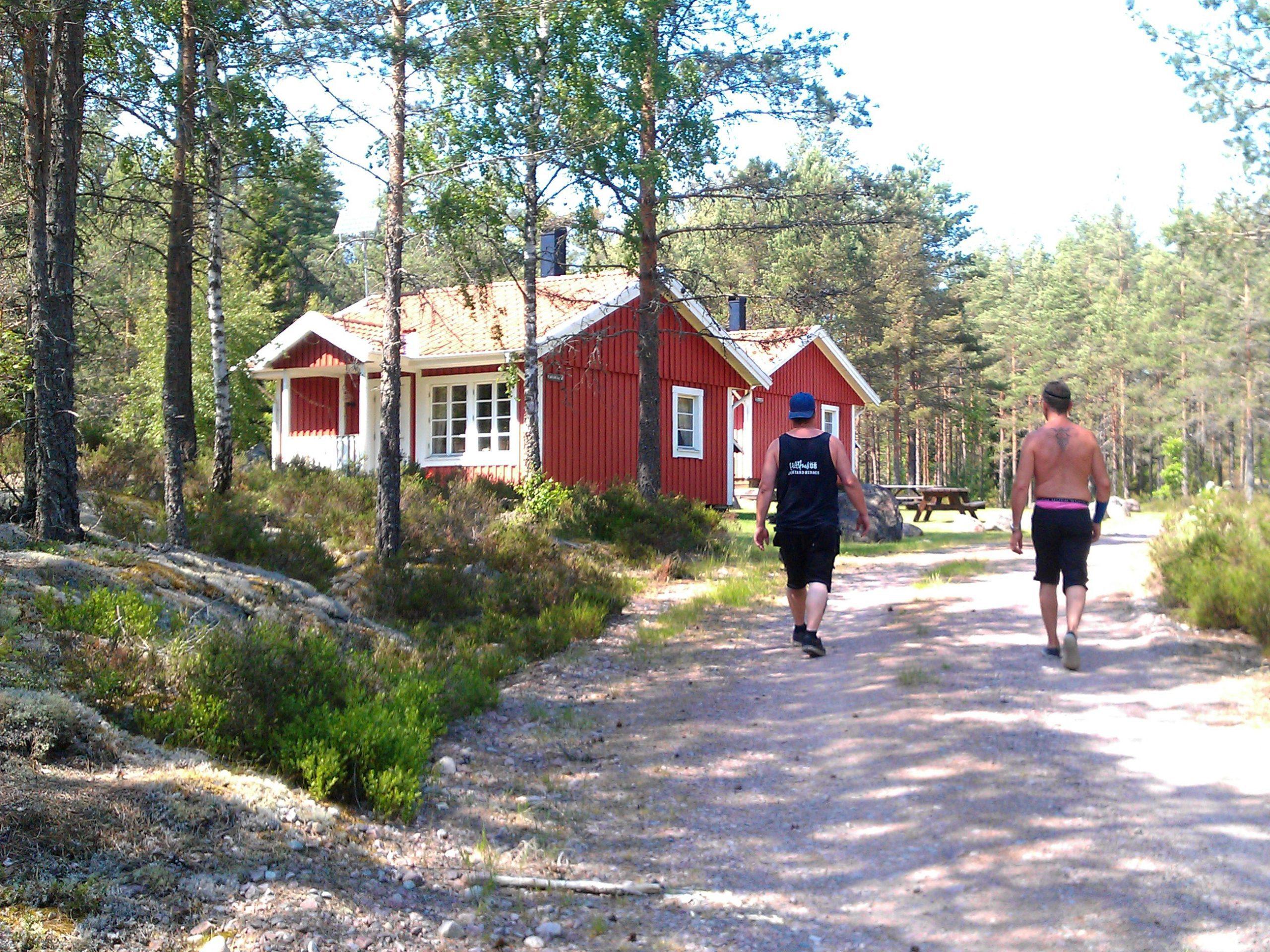 Färgsjöstugorna i te rohe o Stora Hammarsjö