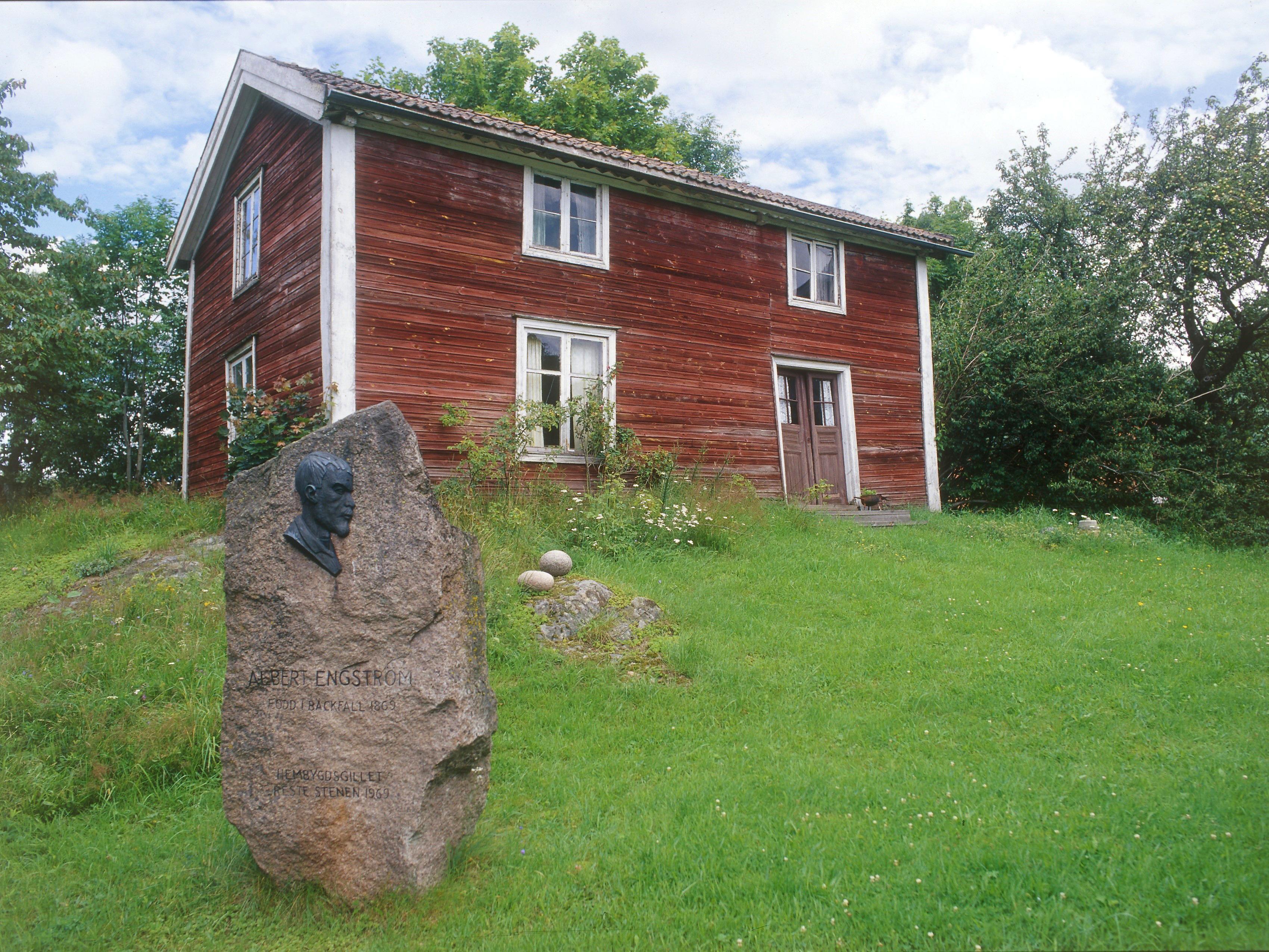 Albert Engströms födelsehem