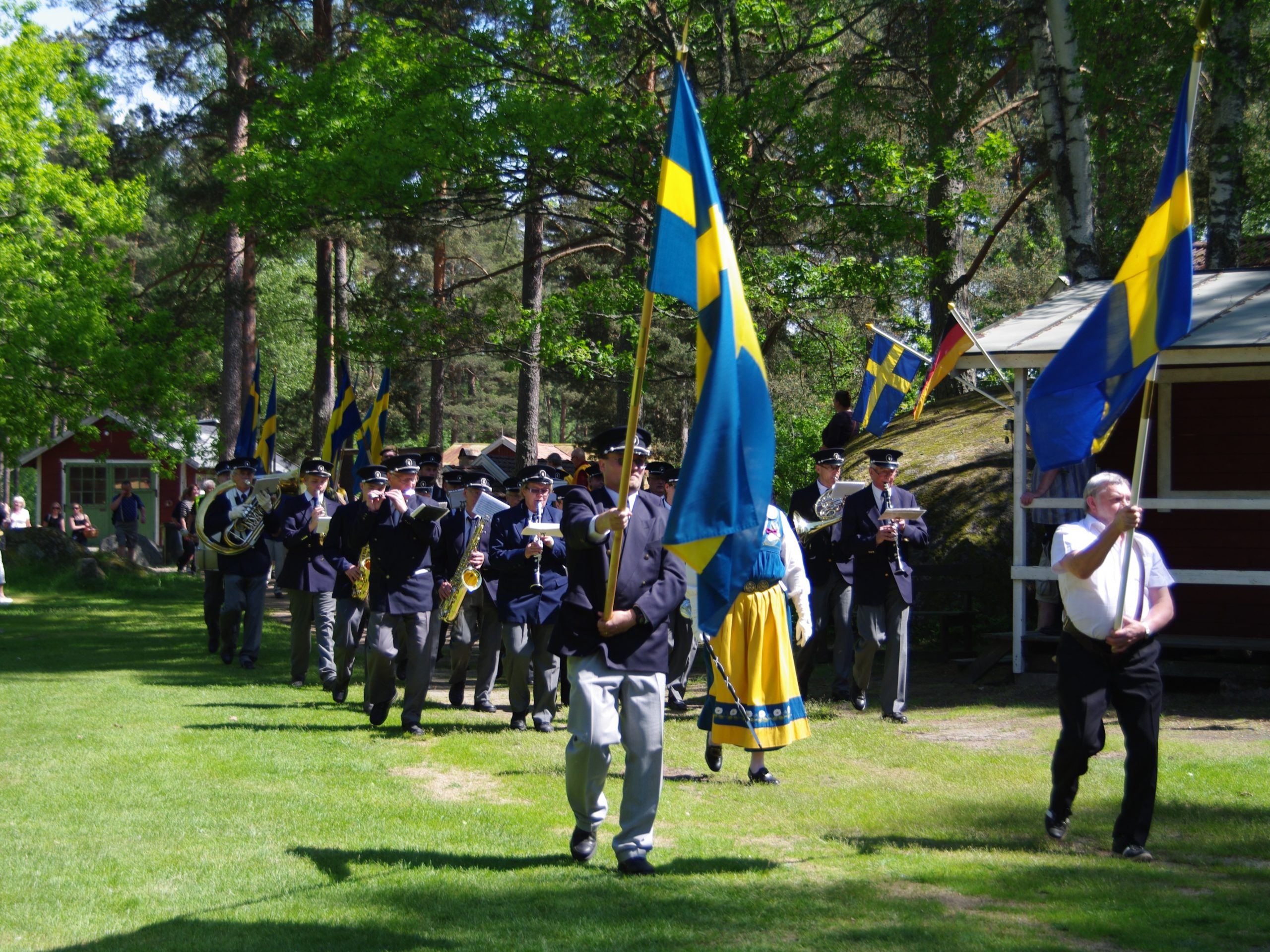 Sveriges Nationaldag Firas I Malilla Visit Hultsfred