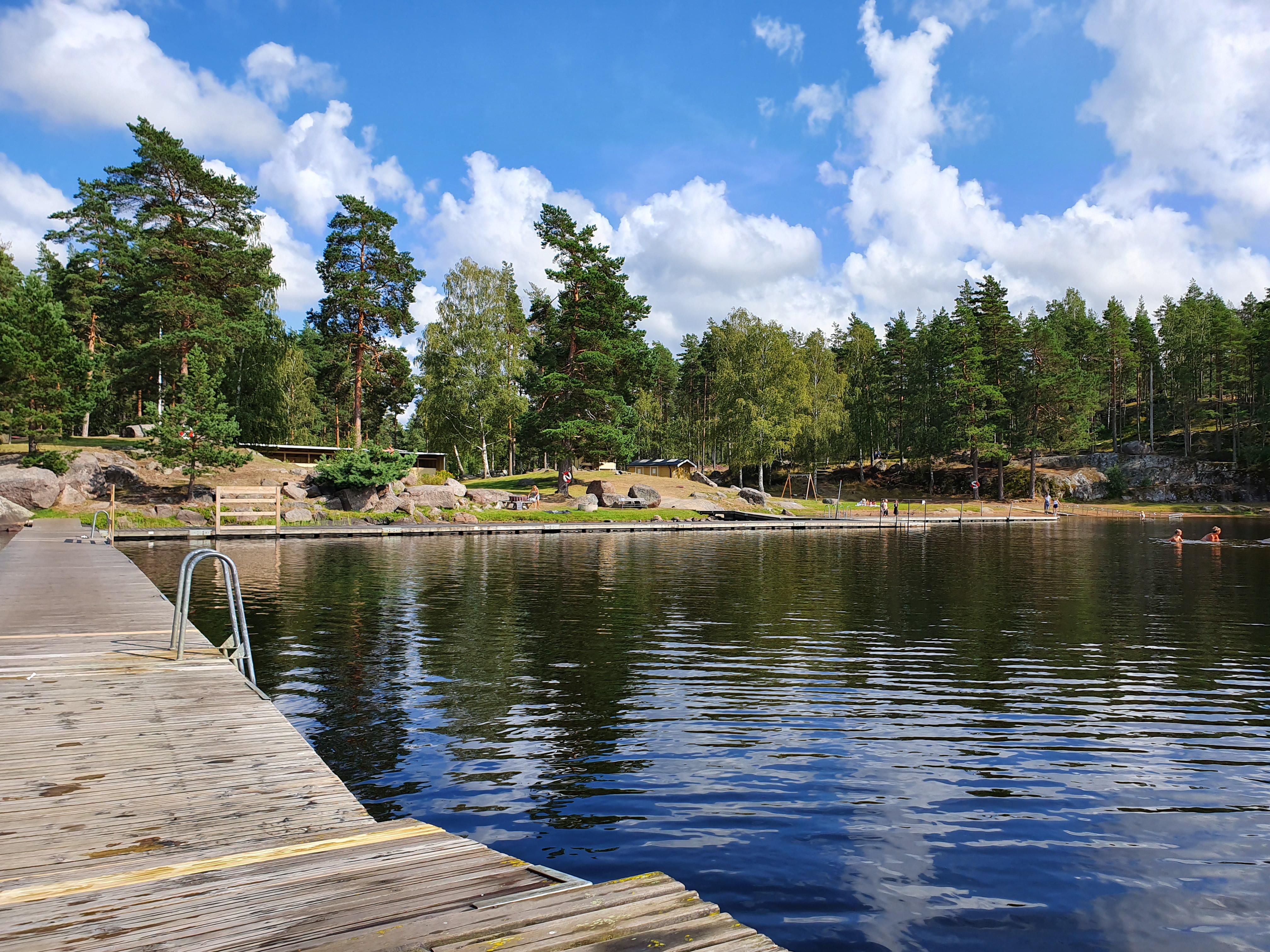 Hesjöns badplats