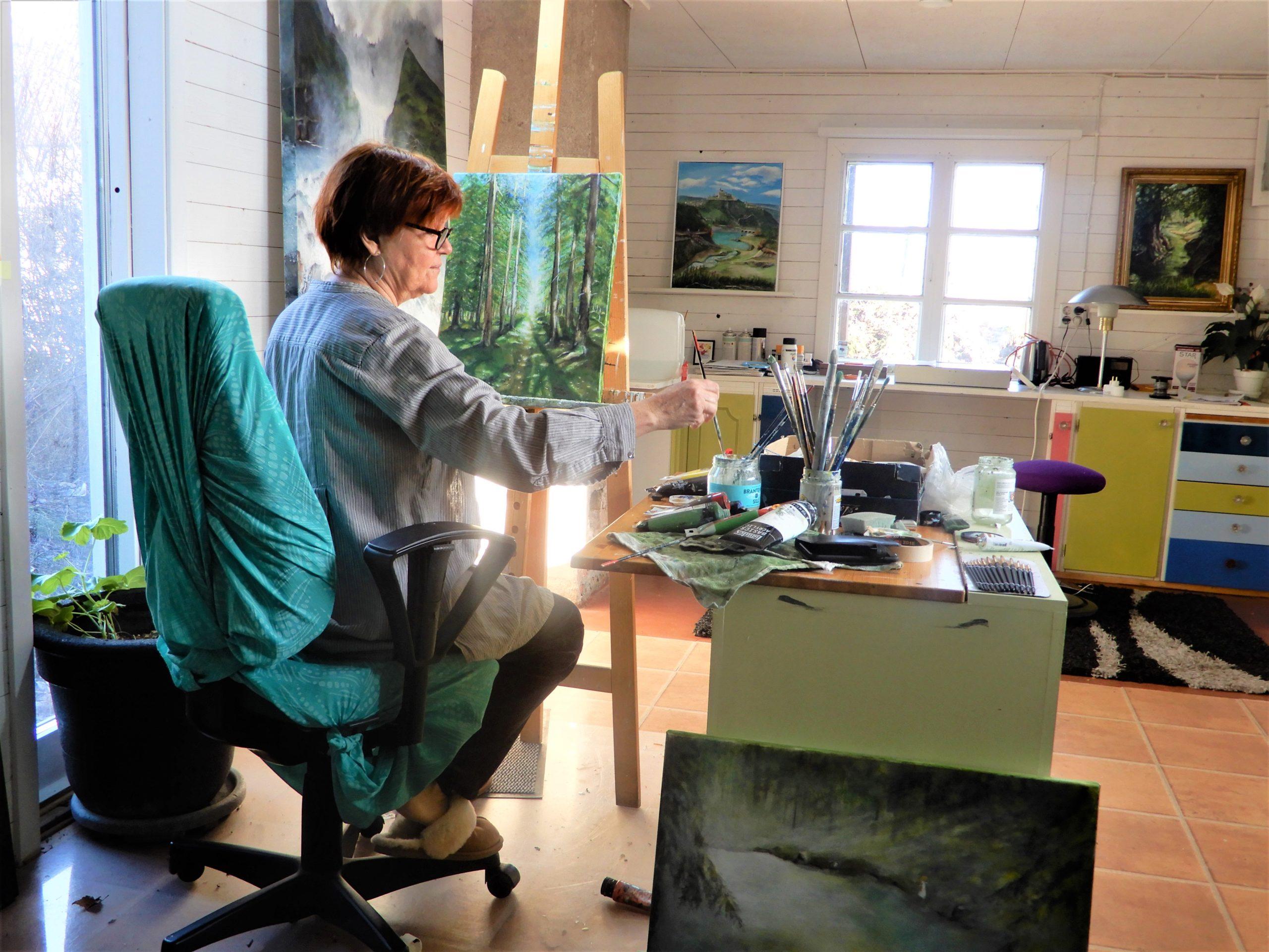 Konstnär Lena Loiske