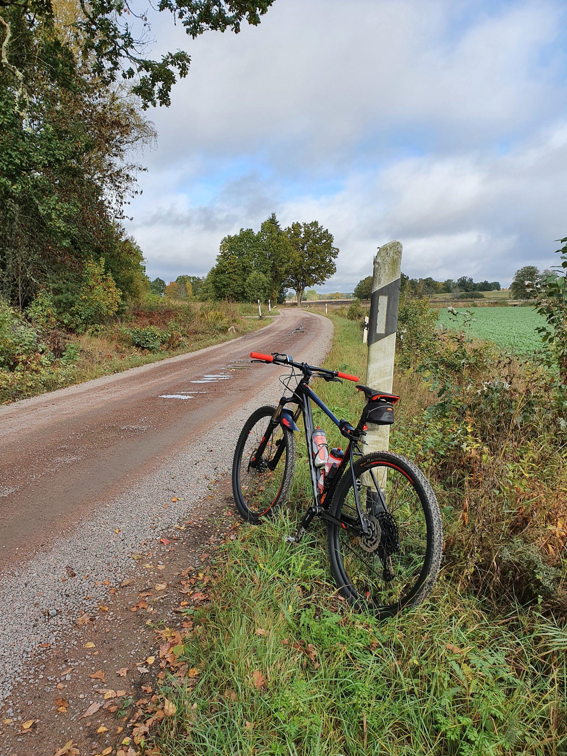 Cykel vid vagen Borje Dellemyr scaled