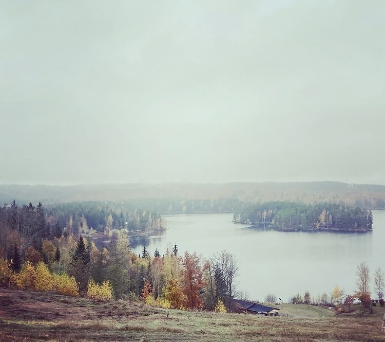 Disig utsikt över Virserumssjön