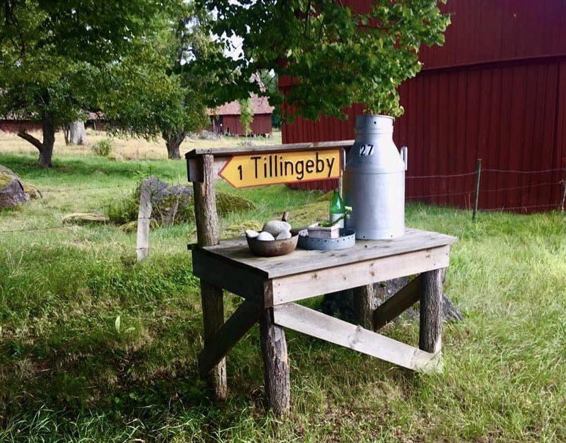 Mjolkpall vid Tillingeby Annika Bogren